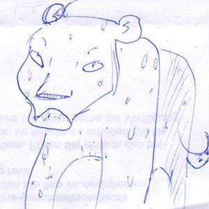 skizze auf papier