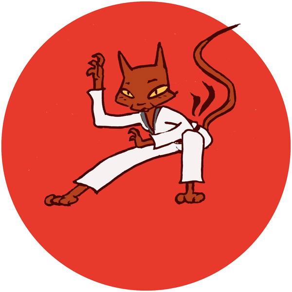 Kampfkatzen Logo fuer ChohWa Berlin