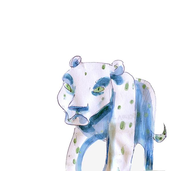 leopard illu